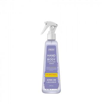 Fresh Jasmine And Lavender Hand and Body Sanitizer Spray (400ml)