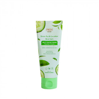 Fresh Skinlab Green Tea and Cucumber Acne Care Jelly Facial Wash 100 mL