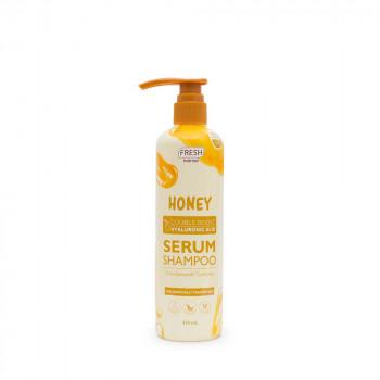 Fresh Hairlab Honey Double Boost Hyaluronic Acid Serum Shampoo 430 ml