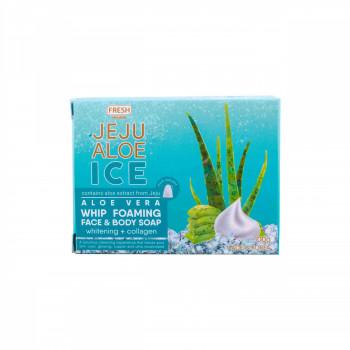 Fresh Skinlab Jeju Aloe Ice Whip Foaming Face & Body Soap