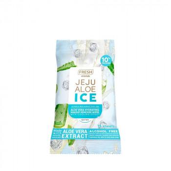 Fresh Skinlab Jeju Aloe Ice Makeup Remover Wipes