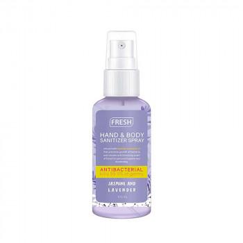 Fresh Jasmine and Lavander Hand and Body Sanitizer Spray