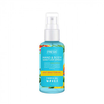 Fresh Tropical Wave Hand and Body Sanitizer Spray