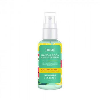 Fresh Watermelon Lemonade Hand and Body Sanitizer Spray