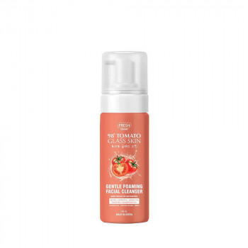 Fresh Skinlab Tomato Glass Skin Gentle Foaming Facial Cleanser