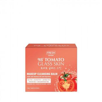 Fresh Tomato Glass Skin Makeup Cleansing Oil Balm