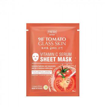 Fresh Tomato Glass Skin Serum Sheet Mask